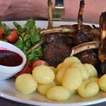 veal with berry sauce - specialty of the week
