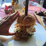 burger with japanese beef