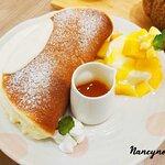 雲之鬆餅-芒果冰淇淋鬆餅: