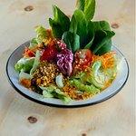 salada deliciosa e fresquinha