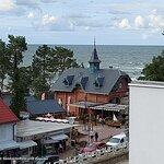 Blick auf Restaurant Port Misdroy