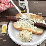 1/b hotdog!