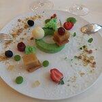 Dessert avec théme la Pomme
