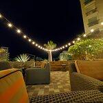 Outdoor area (dinner)