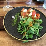 tartine Mozzarella tomate basilic
