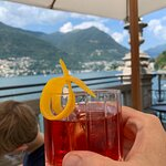 Negroni and view