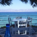 """To Thalami"" taverna in Ampelas - Paros, Greece"