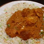 Chicken dhansak. Can highly recommend.