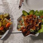 Wonderful salads.