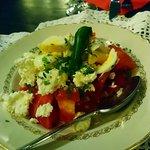 Tomato salad with buffalo mozarella