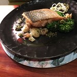 The Fish of the Day - Salmon dish