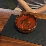 Tomato soup... Very good...!!!