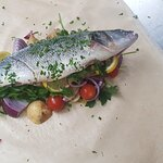 Seabass Cooked to Perfection