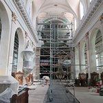 Eglise de Burnhaupt-le-Bas en rénovation intérieure