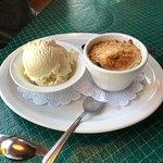 Marionberry Cobbler with Vanilla Ice Cream