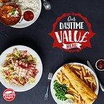 Daytime Value 12-6 Monday to Friday