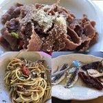 Antipasto e primi piatti