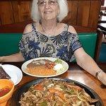 Huge Steak Fajita for 2.. Happy BD Char.9.9.20....by Carl H. =)~