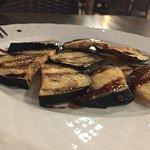 berenjenas con salsa de miel de cana