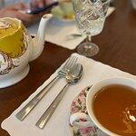 Orange blossom tea.
