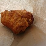 Almond and Salted Caramel Croissant
