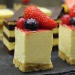 Mignon, cheese cake ai frutti rossi
