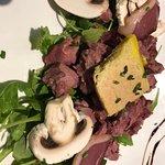 Salade de gésiers ( excellent foie gras)