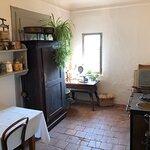 Ehemalige Küche, direkt vor dem  Grossmutter-Stübli.