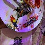 Une autre photo d'un ver dans mon assiette