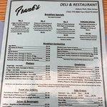Photo de Frank's Deli & Restaurant