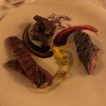Degustazione di carni ( canguro, bisonte e struzzo )