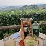 Panorama e Vernaccia di San Gimignano... <3