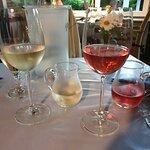 Hervorragende Weiß- und Rose- sowie Rotweine
