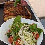 Quiche Lorraine und Salat