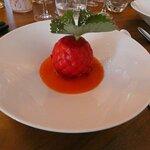 Un dessert surprenant, dans la forme, et délicieux.