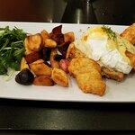 My excellent breakfast!!