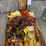 The most beautiful charcuterie board and our wine pairing!