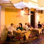 Il ristorante su Via dei Pastini