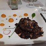 Bøf med trøffel og foie gras