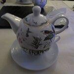 So wird Tee serviert.