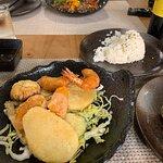 Mixed tempura (prawn, mushroom, aubergine, veg)