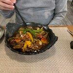 Beef in black bean