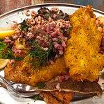 Büsumer Fischplatte (mit Krabben und Garnelen)
