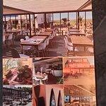 Flyer - das Restaurant ist gut besucht - man sollte reservieren!