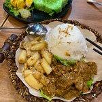 Pandan Leaf Indonesian Food照片