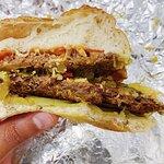 La Duplex, hamburguesa doble hecha con Beyond Meat!