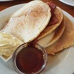 Pancakes, tasty but dry