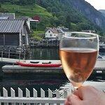 Bilde fra Undredal Fjord Kafe