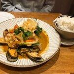 Shared seafood mains