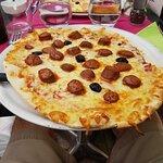 Pizza merguez... et rien d'autres.